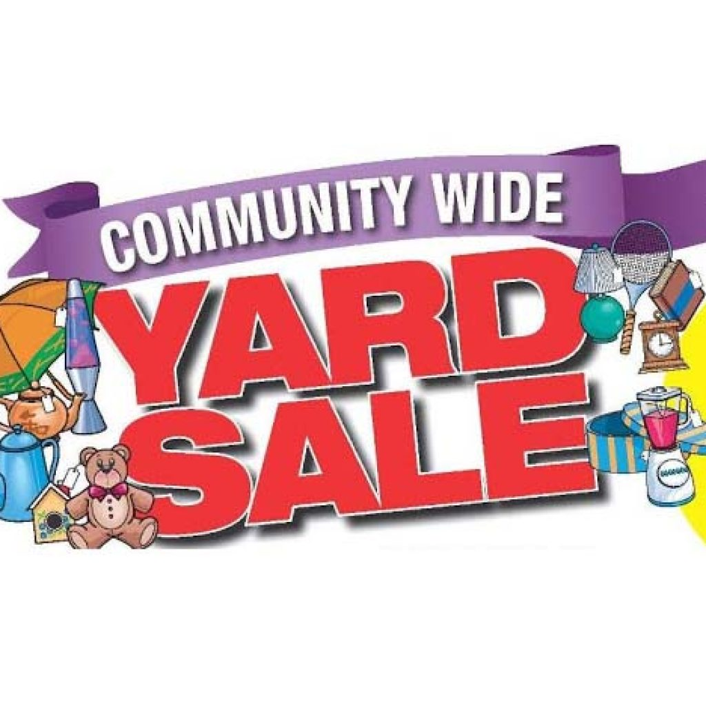 HUGE Indoor Community Yard Sale
